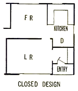 Pole and Panel 3 Bedroom Farmhouse House Plan - Interior Wall Options