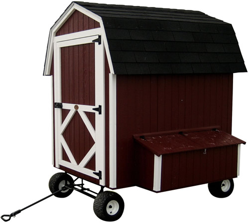 Little Cottage Company Chicken Coop with wheels