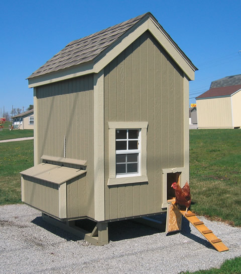 Little Cottage Company Colonial Gable Chicken Coop Kit