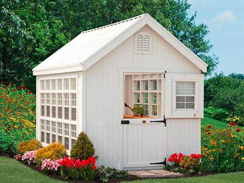 Little Cottage Co. Greenhouse Panelized Kit