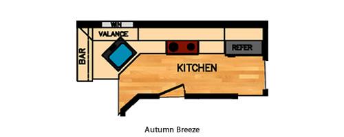 Autumn Breeze Kitchen Layout
