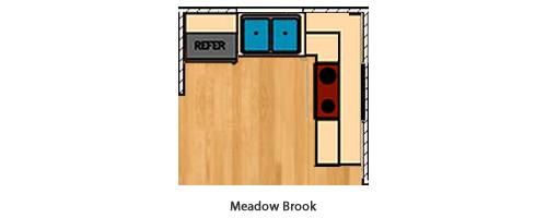 Meadow Brook Kitchen Layout