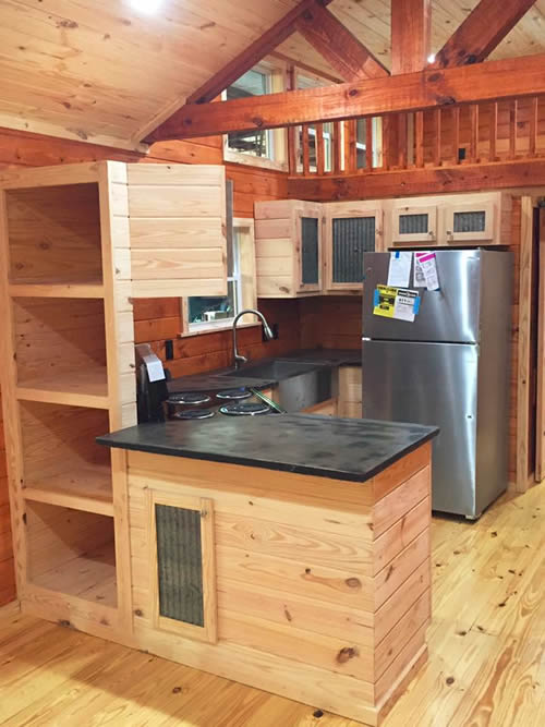 Avery Cabin Co Meadow Brook Park Model Tiny House