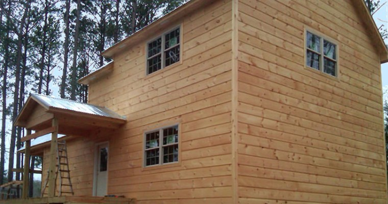 Build Your Own Log Cabin with These Kits