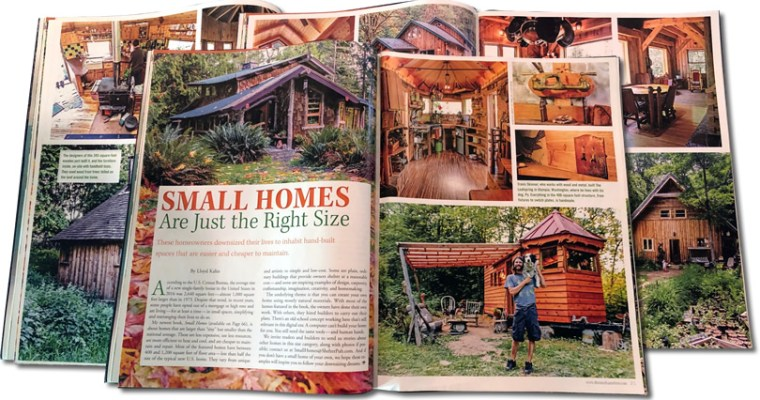 Small Homes are Just the Right Size