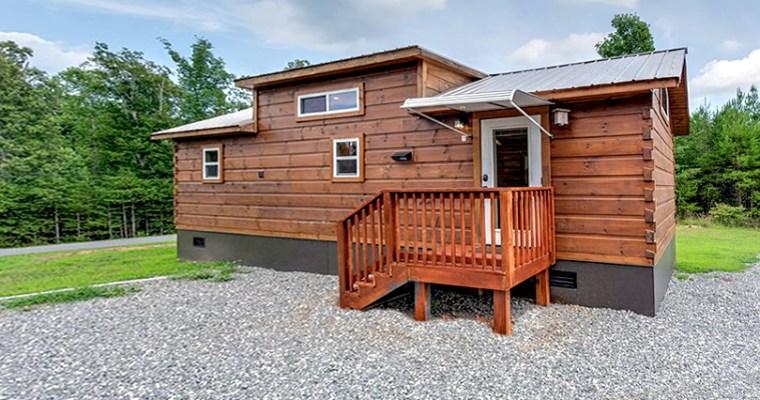Green River Cabins Park Model Log Cabin