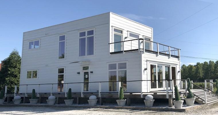 Blue Ridge Log Cabins Luxe 1 2-story Modular Home