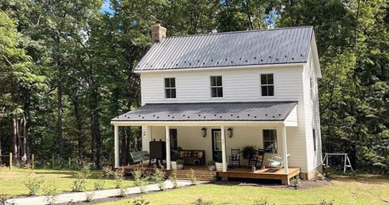Build a Farmhouse From Free House Plans