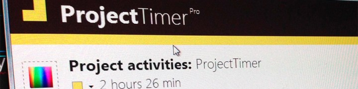 Project Timer header 2