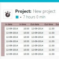 Time Tracking software for Windows - Edit  time tracking data afterwards