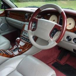 Car front part interior