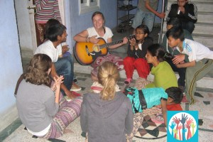 Our volunteers tend to come back to Nepal!