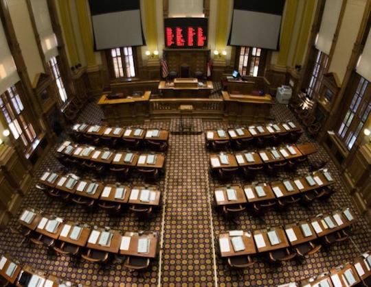 The Georgia State Senate Chamber [Image Source]