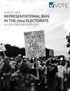 Download Representational Bias in the 2014 Electorate here.