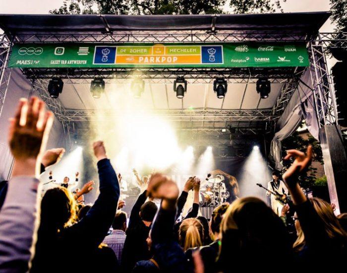 Les Truttes op Parkpop (foto: AIKON Producties voor mmMechelen Feest vzw en Stad Mechelen)
