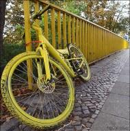 Gele fiets (Flickr/5auge)