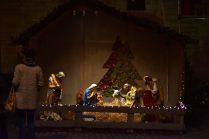 Kerststal op de Grote Markt in Mechelen