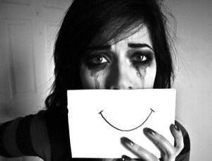 Depression can be masked by a person if they are committed to putting on a front of happiness.