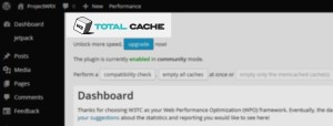 W3 Total Cache - for WordPress