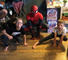 Parkour Parties with Spider Man