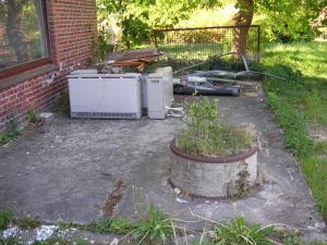 Terrasse Hintere Haushälfte