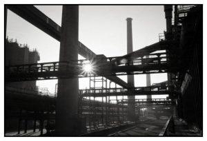 Zeugnis vergangener Tage: Die stillgelegte Zeche Zollverein in Essen. Immer noch im Einsatz sind die Organisationsmodelle aus dieser Zeit. Sind diese noch zeitgemäß, noch produktiv genug?