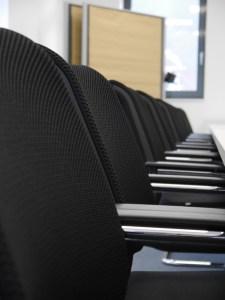 Lange getestet und für bequem befunden. Die Stühle im #projektraum42.