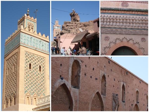 Medina é a parte antiga e pobre da cidade. Vimos esgoto a céu aberto nessa área. Entretanto, mostra bem o que é o Marrocos.