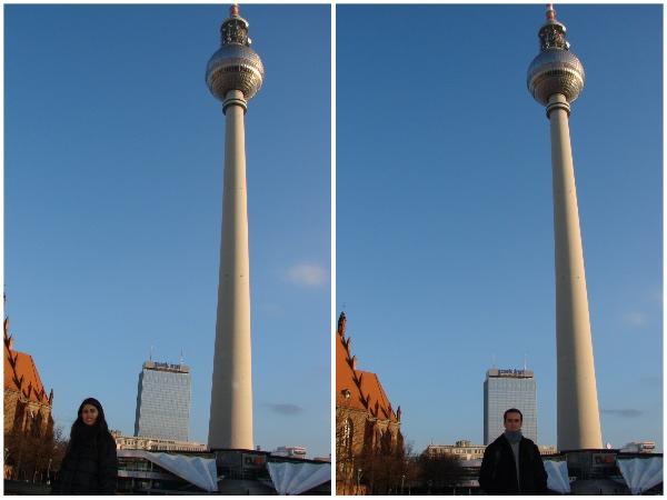 A Torre de TV é um símbolo da República Democrática Alemã