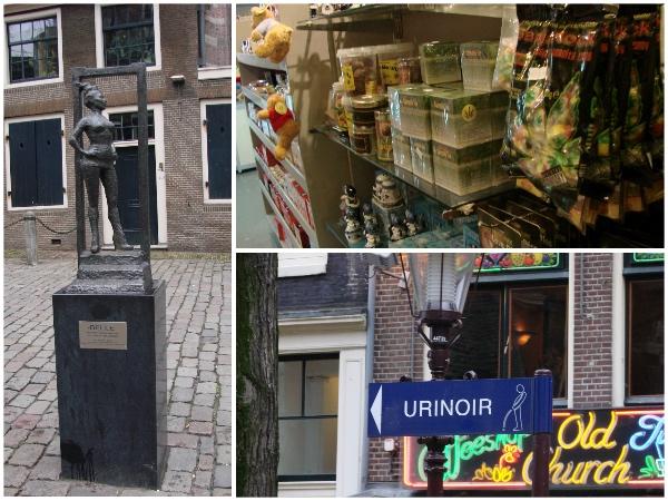 Coisas diferentes em Amsterdam
