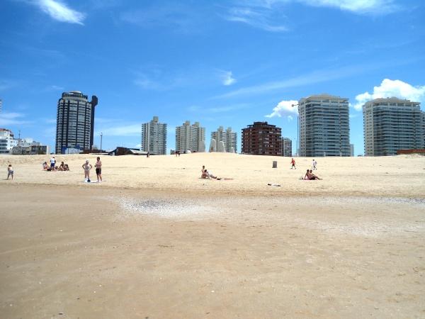 A Praia Brava, local onde está situado o monumento