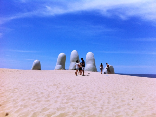 Punta del Este Uruguai Los Dedos