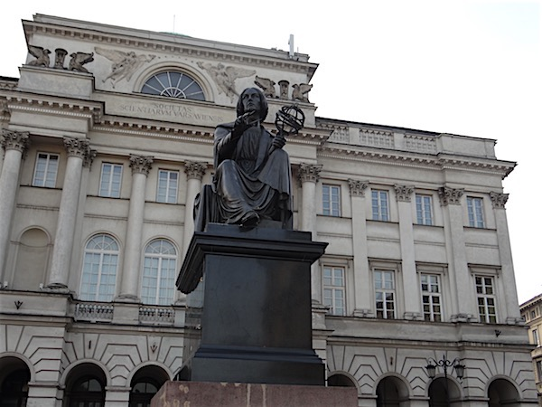 Monumento a Nicolau Copérnico