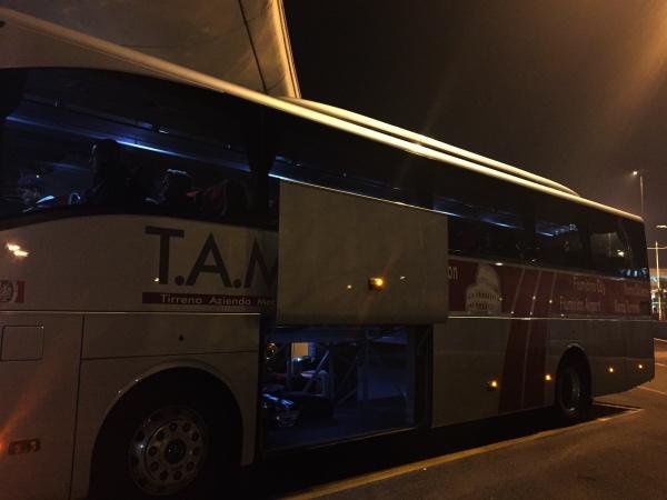 Ônibus TAM Roma