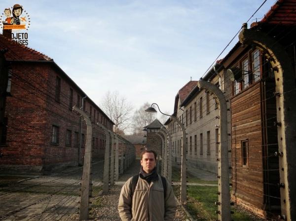 Arames e cercas eletricas Auschwitz