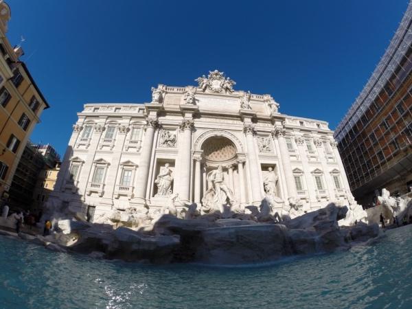 A LINDA Fontana di Trevi!