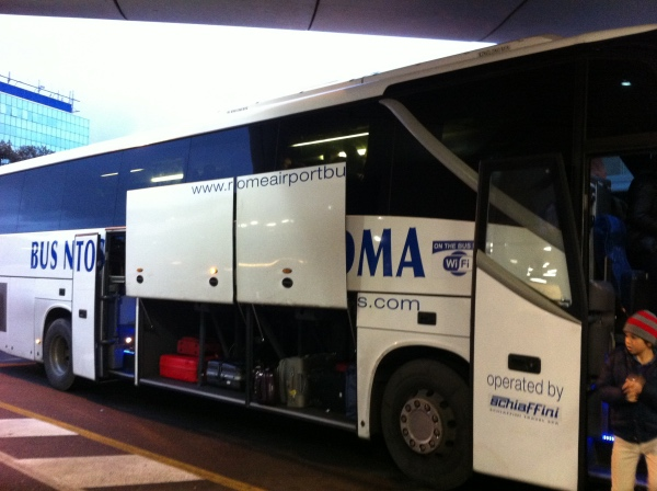 Rome Airport Bus FCO