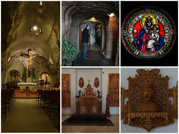 Igreja na caverna Budapeste