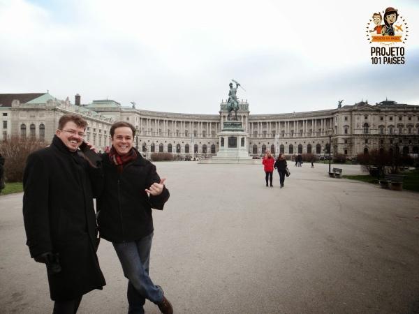 Grandes amigos se reencontram - Palácio Imperial de Hofburg