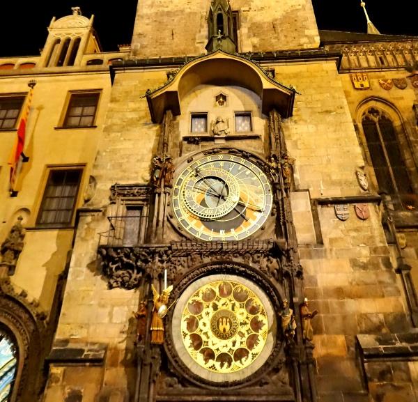O Relógio Astronômico de Praga, uma das grandes atrações da cidade!