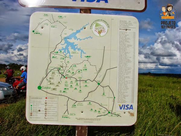 Mapa Rota w55