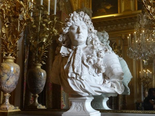 Busto Luis XIV Palacio de Versalhes