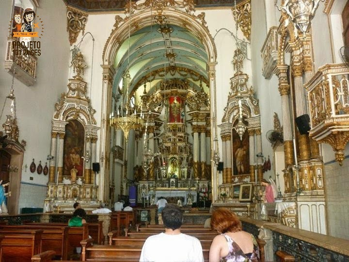 Igreja do Bonfim por dentro