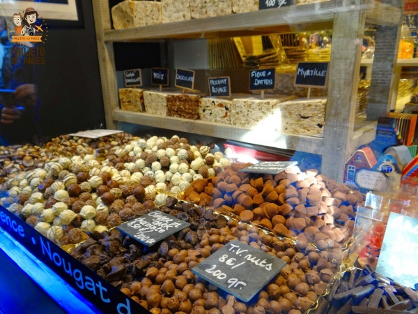 Chocolates em Bruges