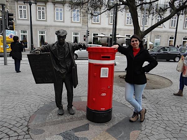 Estátua Ardina Porto