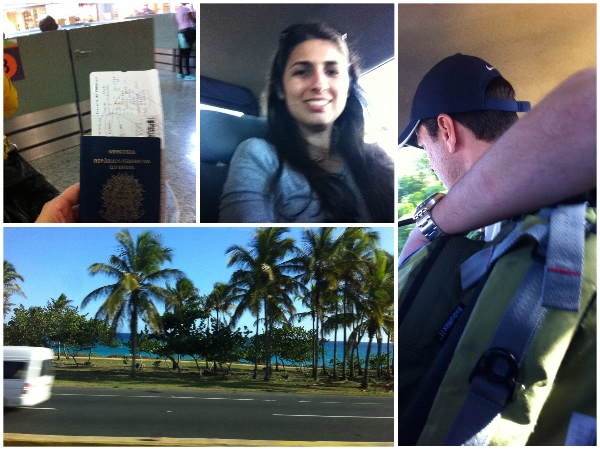 Chegada a Santo Domingo