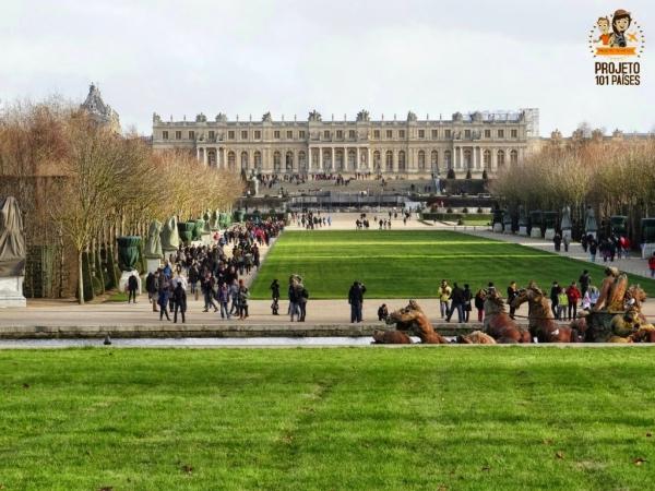 Jardim e Palacio de Versalhes