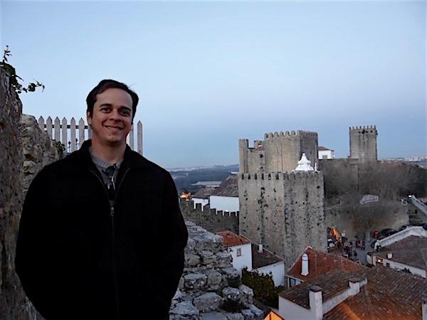 Pelas muralhas de Óbidos