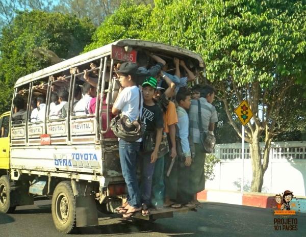 Transporte em Yangon