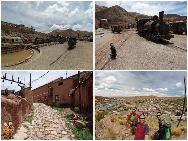 O centro mineiro Pulacayo